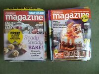 Lot of 25 Issues of Sainsbury's Magazine 2012 to 2014 recipes, food, baking, cooking, lifestyle