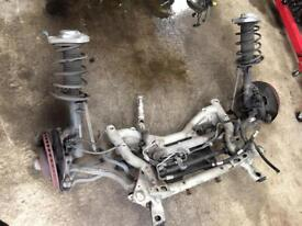 Mercedes e class w212 front axel complete