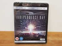 NEW 4K UHD + Blu Ray + Digital HD - Independence Day