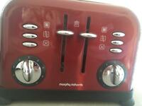Morphy Richards 4slot toaster