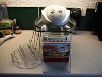 cooker comes with accessories & cook book