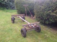 Timber yard truck