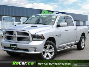 2015 RAM 1500 Sport REDUCED | CREW | HEATED SEATS | NAVIGATION
