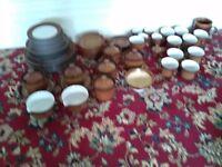 Large selection of Denby crockery