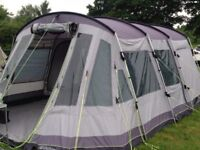 Outwell Montana 6p tent, footprint and carpet