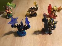 Skylanders trap team character bundle
