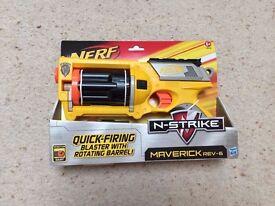 Nerf N-Strike Maverick Rev-6 Brand New Unused