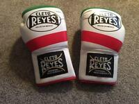 Cleto Reyes boxing gloves guard