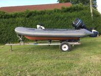 Boat rib Avon searider