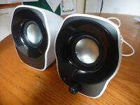 Laptop Speakers 3.5mm USB
