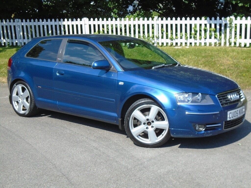 2005 (05) Audi A3 2.0 TDI S line Quattro   12 MONTHS MOT ...