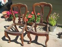 2 chairs for restoration