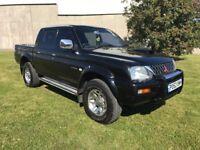 Mitsubishi L200 Warrior 4x4 Pickup Truck - 52 Reg - Only 123K - Bargain