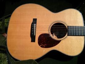 Collings OM1 H Acoustic Guitar, Herringbone Binding £2,395 ono
