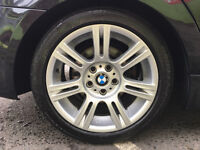 "BMW M SPORT GENUINE 17"" alloy wheels"