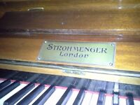 Upright piano in good condition. Must be able to collect, but help is available to load