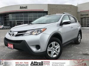 2015 Toyota RAV4 AWD LE  Upgrade Package,Heated seats, Backup Ca