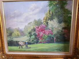 Oil painting darley park