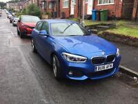 BMW 116D M SPORT 16 REG fully loaded still under warrenty and 3 yr service pack