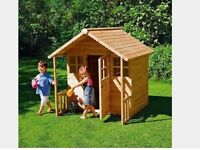 Brand New Chad Valley Wooden Play House