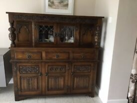 solid Oak Charm unit ,excellent quality ,was very expensive