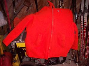 XL  Blazed  orange  hunting  coat