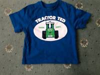 Tractor Ted Boys Top
