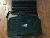 Pedal train 2 guitar & bass pedal board