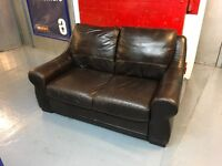 NICE LEATHER TWO SEATER SOFA
