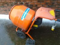 belle 110 volt cement mixer