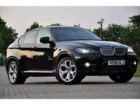 2008 BMW X6 3.0 35d xDrive 5dr FINANCE ME TODAY+HIGH SPEC.+TWIN TURBO+JUST SERVICED+FREE WARRANTY