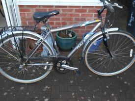 mans 18 inch p1000 raleigh bicycle for sale