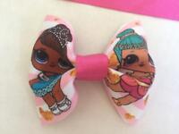 Cheeki chops handmade baby accessories, bows, bibs, dummy clips, and memory blankets