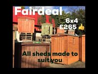 Sheds *free delivery