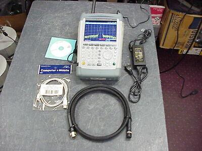 Rohde Schwarz Fsh4 4.04 Handheld Spectrum Analyzer W Preamp Rs Fsh-4k40