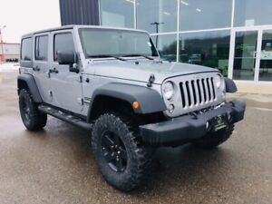 2014 Jeep Wrangler Unlimited Sport, Dual Tops, 4X4