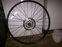 """Mountain bike rear wheel 8 speed 26"""" disc 160mm rotor"""