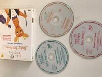 Baby Einstein DVDs x 3