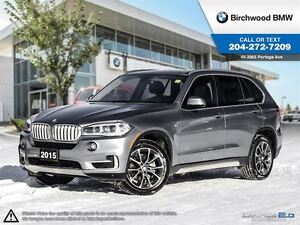2015 BMW X5 xDrive35i Premium Package 2 No Accidents!