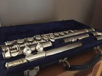 Blessing flute and case