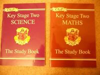 Key Stage Two Maths and Science Study Books