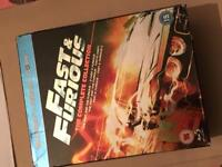 Blu-Ray Fast & Furious: The complete collection.