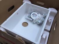 Blanco Samos - White Undermount Silgranit Sink - New / Boxed