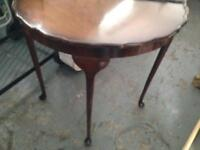 Old Queen Anne style hall table