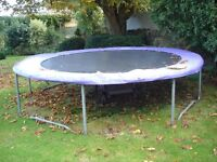Scrap Metal 15ft Trampoline - Free to Collector