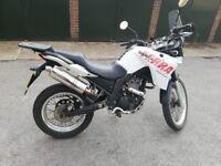 Adventure motorbike, 125cc, learn legal