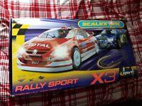 Scalextric Rally Sport X3 - Subaru Impreza & Peugeot 307
