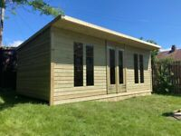 summerhouse shed cabin rooms