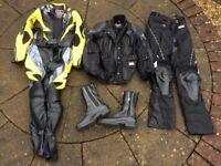 Biker gear for female.