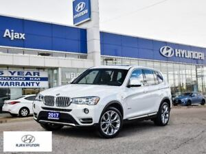 2017 BMW X3 xDrive28i|Navigation|Sunroof|Bluetooth